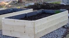 STILkvisten: Bygga egna odlingslådor Diy Outdoor Wood Projects, Growing Greens, Succulents Garden, Raised Beds, Outdoor Furniture, Outdoor Decor, Garden Inspiration, Patio, Flowers