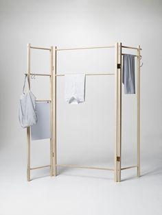 360 Degrees Foldable Garment Rack | furniture . Möbel . meubles | Design: Anonym Design |  Nomess |