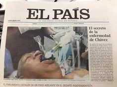 El Pais publica foto falsa de Chavez na web e impresso e é obrigado a pd desculpas http://www.bluebus.com.br/el-pais-publica-foto-falsa-de-chavez-na-web-e-impresso-e-e-obrigado-a-pd-desculpas/