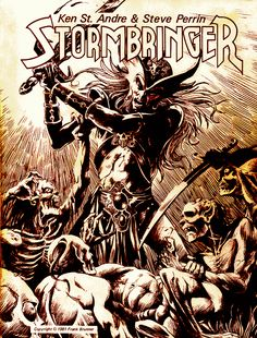 Stormbringer RPG | Art by Frank Brunner