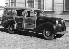 1946-50 Volvo PV 61 Woody Wagon Volvo Amazon, Woody Wagon, Shooting Brake, Old Race Cars, Volvo Cars, Bus Coach, Koenigsegg, Station Wagon, Automotive Design
