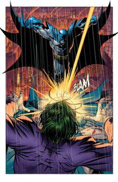 Batman vs Joker by Adam Kubert