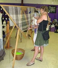 This is a triangle loom for the weavers. I'm building on of these today! :)