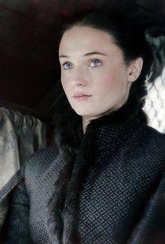 Dark Sansa Stark, en la quinta temporada de @JuegoDeTronosTM