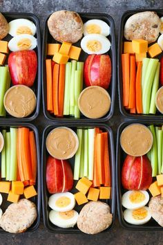 Copycat Starbucks Protein Bistro Box - Now you can easily make your own snack boxes! Healthy, nutritious and prepped for lunch or post-workout snacks! http://eatdojo.com/healthy-snacks-weightloss-easy-delicious/