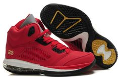 Nike Air Jordan 5.0 Air Max Zoom 2011 New Sneakers Red Yellow White Men