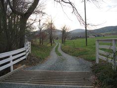 Farm entrance near Stoney Point, Rte 15 Farm Entrance, Vie Simple, Charlottesville, Imagines, Country Life, Sidewalk, Garden, Pictures, Scene