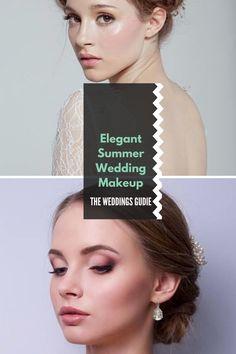 Elegant Summer Wedding Makeup Tips and Ideas #weddingmakeup Summer Wedding Makeup, Wedding Makeup Tips, Summer Makeup, Wedding Looks, Wedding Make Up, Dream Wedding, Wedding Ideas, Different Skin Tones, Makeup Inspiration