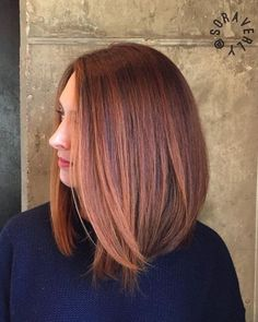 Long bob is one of the top hairstyles for the upcoming autumn / winter season: this is the best way to take it over! - Long bob is one of the top hairstyles for the upcoming autumn / winter season: this is the best way - Long Bob Balayage, Balayage Hair Blonde, Ombre Hair, Soft Balayage, Hair Dye, Cabelo Rose Gold, Gold Hair Colors, Hair Colours, Langer Bob