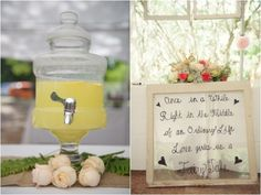 drink station, vintage window pane with handwritten love quote, aqua mint and pink wedding ideas, rustic southern shabby chic wedding, Luminaire Foto