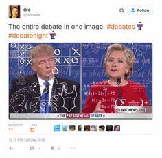 Funniest Presidential Debate Memes: The Entire Debate in One Image