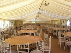 Cream chandeliers - #marqueehireuk #marqueehire #Notts #Derby #Leicester #weddings #corporate #events
