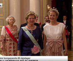 Verjaardag koning Harald en koningin Sonja van Noorwegen