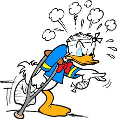 Donald Fauntleroy Duck or Donald Duck is a funny animal cartoon character created in 1934 at Walt Disney Productions.