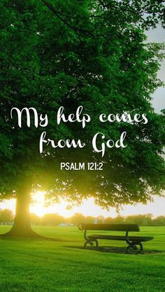 Psalm 121 #scripture All of my #help comes from #God
