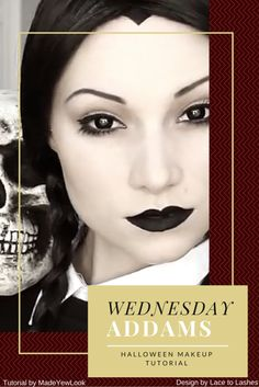 Best Halloween Makeup Wednesday Addams