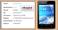 Lowest Price Smartphone in Bangladesh - Easy:--  Smartphone Price in BD - Buy latest Smartphone in Bangladesh, Okapia Mobile offers the class range of best Smartphone in Bangladesh. Check Smartphone prices in BD with best offers, Visit Now!  http://okapia-mobile.com/latest-smartphone-price-in-bangladesh/