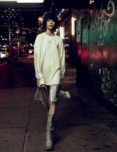 Photography: Takay Styled by: Ye Young Kim Hair: Kenshin Asano Makeup: Simone Otis Model: Ewa Wladymiruk