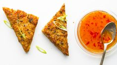 Shrimp Toast with Sweet Chile Sauce