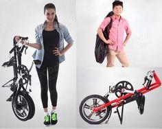 Folding Bike MINI Bicycle 16inch Wheel Smallest Aluminium Alloy Frame - US$459.00