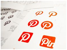 Funny I pin this ---------Pinterest logotype & Identity by Juan Carlos Pagan, via Behance
