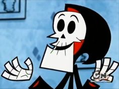 The Grim Adventures of Billy & Mandy_Grim Reaper Cartoon Games, Cartoon Icons, Cute Characters, Cartoon Characters, Puro Osso, Grim Reaper Cartoon, Broken Heart Drawings, Billy Mandy, Cartoon Network Shows