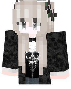 Girl Dark Skins Para Minecraft Capas Minecraft Skins De