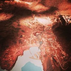 Maqueta de Vizcaya en el Museo Vasco #galdakaon