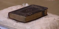 Richard III's prayer book, found in his tent after the Battle of Bosworth field