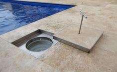 Pool 1 - Customised Metal Works Skimmer Pool, It Works, Sink, Metal, Pools, Console, Image, Home Decor, Sink Tops