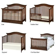 Toys R Us Crib To Toddler Bed.Baby Cache Montana Lifetime Crib Brown Sugar Baby Cache