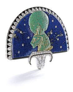 Five Rare Egyptian-Revival Jewels | Sotheby's