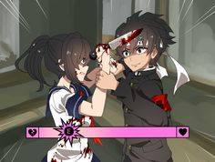 Come-on yandere you can do it!