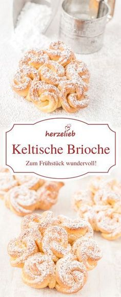 Keltische Brioche – das Rezept - Best All RecipesBread Recipes, Breakfast Recipes: Celtic brioche are simply great for breakfast. The recipe is from herzelieb.Bread Recipes, Breakfast Recipes: Celtic brioche are just wonderful for .This Pin was dis Burger Recipes, Beef Recipes, Baking Recipes, Breakfast For Dinner, Breakfast Recipes, Chicken Breakfast, Breakfast Ideas, No Bake Desserts, Dessert Recipes