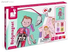 Amazon.com: Janod Body Magnet: Toys & Games