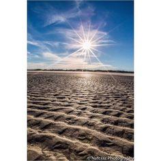 #sun #sunburst #grooves #beach #florida #matanzasinlet #clouds #sky #skyporn #sand by natcraz