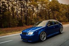 Blue MK4 Jetta