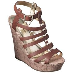 4b407a01308 Women s Mossimo Supply Co. Amelia Wedge Sandal Summer Wedges