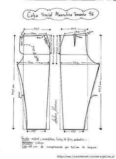 Como hacer un pantalon de vestir para hombre03