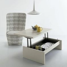 Folding Furniture Is Dining Table Desk and Coffee Table in One