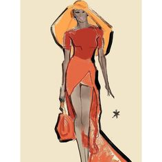This sketch belongs to one of my favorite current French designers, I think he's got lot of future in World Of Fashion, High Fashion, Fashion Show, Paris Fashion, Fashion Design, Fashion Sketches, Fashion Illustrations, House Illustration, Illustrators On Instagram