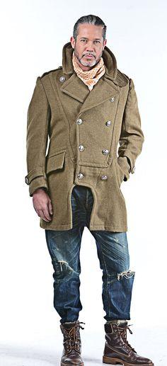 1950-neu / überarbeitete authentische griechische Armee militärischen Stil Vintage wolle Mantel / Mantel von oberen Rang Vintage (unveröffentlichte / nie getragen)