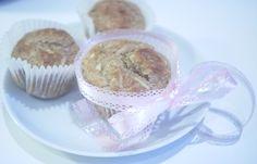 Grove eplemuffins med vaniljekesam og kanel (À la Karoline) Muffins, Cupcake, Sweets, Cakes, Breakfast, Desserts, Food, Blogging, Muffin
