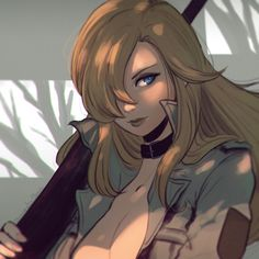 """koyoriin:  """"I finally understand. I wasn't waiting to kill people…I was waiting for someone to kill me."""" http://www.pixiv.net/member.php?id=12576068http://instagram.com/koyori_n Drawing of Sniper Wolf, Metal Gear Solid!Will probably try to do another one when I have more time…"""