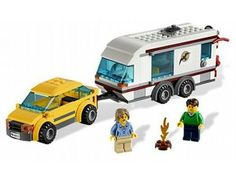 Got it!  The Car and Caravan from the Lego City collection - a great selection of Lego construction sets at Wonderland Models.    One of our favourite sets in the Lego City Town range is the Car and Caravan.    Go camping and explore the great outdoors! Drive into the wilderness with the car and unhook the caravan to go for a quick bicycle ride! Start the camp fire before its time for dinner to roast the sausages! Male and female minifigures included.