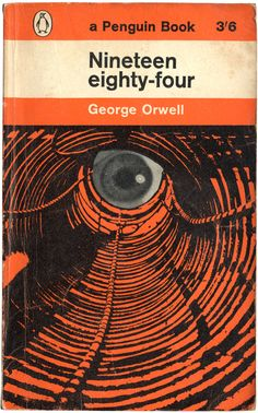 1984. George Orwell, book cover