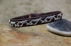 Sami Bracelet  Lapland  Pewter Silver by AuroraSamiJewelry on Etsy, $53.00