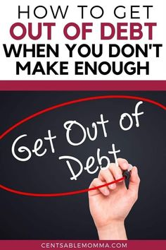 You desperately want to get out of debt, but you just don't think you make enough money to dig yourself out of the hole of debt you find yourself in. Check out these 5 tips to help you get started on your journey to paying off debt even with a low income. Budget Chart, Budget Spreadsheet, Ways To Save Money, Money Saving Tips, Living On A Budget, Frugal Living, Debt Payoff, Debt Repayment, Budgeting Worksheets