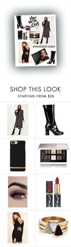 """""""Oversized Coats"""" by sweetsugarbeads ❤ liked on Polyvore featuring MARIOS, Givenchy, RVCA, Brixton and Bling Jewelry"""