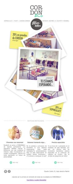 Newsletter de CORDON&Co